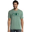 Hanes G100P Y08056 Men's ComfortWash Zion National Park Short Sleeve Tee