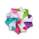 Hanes Girls' Low-Cut EZ Sort Socks Assorted 10-Pack, G42/10