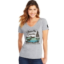 Hanes G9337P-Y07762 Denali National Park Women's Graphic Tee