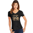 Hanes G9337P-Y07763 Explore National Park Women's Graphic Tee