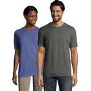 Hanes GDH100-GRTDYE Men's ComfortWash Garment Dyed Short Sleeve Tee