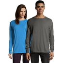 Hanes GDH200-GRTDYE Men's ComfortWash Garment Dyed Long Sleeve Tee