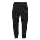 Champion GF22H Y07972 Men's Powerblend Fleece Joggers, C Logo With White Chainstitch