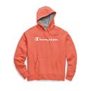Champion Men's Powerblend® Fleece Pullover Hoodie, Script Logo