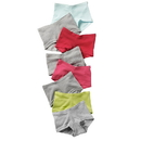 Hanes GSBS80 Girls' Cotton Boy Short Panties 8-Pack