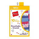 Hanes GSTB10 Girls' Breathable Stretch Briefs 10-Pack