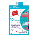 Hanes GSTH10 Girls' Breathable Stretch Hipsters 10-Pack