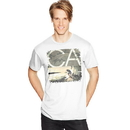 Hanes GT49 Y06038 Men's Sandwashed CA Graphic Tee