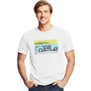 Hanes GT49 Y06039 Men's Surf Call Graphic Tee