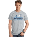 Hanes GT49 Y06362 Men's California Wave Graphic Tee