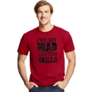 Hanes GT49 Y06379 Men's Mad Skills Graphic Tee