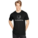 Hanes GT49 Y06382 Men's I'm Thinking Graphic Tee