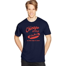 Hanes GT49 Y07071 Men's Chicago Style Graphic Tee