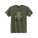 Hanes GT49P-Y07660 Colorado Rocky Mountain National Park Graphic Tee