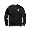Champion GT78H-Y06591 Men's Classic Jersey Long-Sleeve Tee, Big C Logo