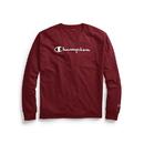 Champion GT78H Y07718 Men's Classic Jersey Long-Sleeve Tee, Script Logo