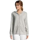 Hanes HAC80176 Women's Heathered French Terry Zip Hoodie