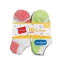 Hanes HGBN10 Girls' Cool Comfort No Show Socks 10-Pack