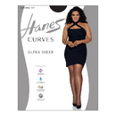 Hanes HSP001 Curves Ultra Sheer Control Top Legwear