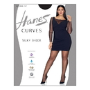 Hanes HSP002 Curves Silky Sheer Control Top Legwear
