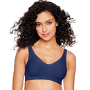 Hanes Ultimate Smooth Inside and Out ComfortFlex Fit Wirefree Bra , HU04