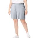 Just My Size J345 Women's Plus-Size Cotton Jersey Pocket Shorts