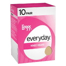 L'eggs J97 Everyday Knee Highs RT 10 Pair
