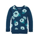 Hanes K376 Girls' High-Low Graphic Sweatshirt