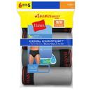 Hanes LB780Z Men's FreshIQ Cool Comfort Breathable Mesh Sport Brief 6-Pack (5 + 1 Free Bonus Pack)