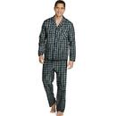 Hanes LSLLBCWM Men's Woven Pajamas