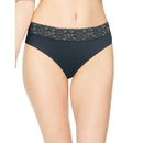 Hanes LW42AS Women's Ultra Light Lace Bikini 4-Pack