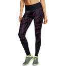 Champion M0940P Women's 6.2 Printed Run Tights With SmoothTec Band