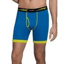 Hanes MTBLC4 Men's X-Temp Longer Leg Boxer Briefs With Comfort Flex Waistband 2XL 4-Pack