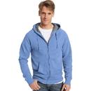 Hanes N280 Adult Nano Sweats Zip Hoodie Sweatshirt