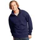 Hanes N290 Adult Nano 1/4 Zip Sweatshirt