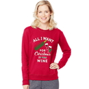 Hanes O4876 Women's Ugly Christmas Sweatshirt
