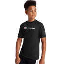 Champion OCW24A-Y07858 Youth Double Dry Logo Tee