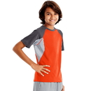 Hanes OD182 Sport Boys' Performance Tech Mesh Pieced Tee