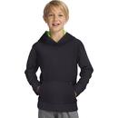 Hanes OD258 Sport Boy's Tech Fleece Pullover Raglan Hoodie