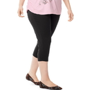 Just My Size OJ256 Stretch Cotton Jersey Women's Capri Leggings