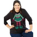 Just My Size OJ338 Crewneck Ugly Sweatshirt