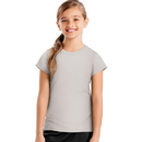 Hanes OK299 Sport Girls' Heathered Tech Performance Tee