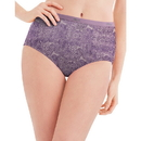 Hanes PP40LC Women's No Ride Up Cotton Brief 6-Pack