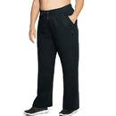 Champion QM4854 Women Plus Fleece Open Bottom Pant