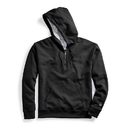 Champion S0892 Y08009 Men's Powerblend Fleece Quarter Zip Hoodie, Embroidered Logo