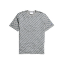 Champion T0435 Men's Heritage Tee, Allover Logo
