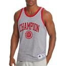 Champion T39473-549802 Men's Heritage Tank, Collegiate Crest