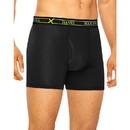 Hanes UABBB3 Ultimate Men's FreshIQ X-Temp Air Boxer Briefs Assorted Black/Grey 3-Pack