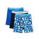 Hanes UFBBC3 Ultimate Men's Comfort Flex Fit Cotton/Modal Boxer Briefs Assorted Designs 3-Pack