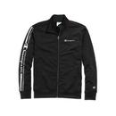 Champion V3391 550318 Men's Track Jacket, Vertical Logo